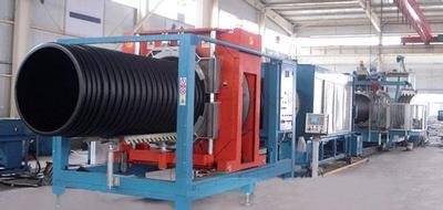 HDPE双壁波纹管生产设备